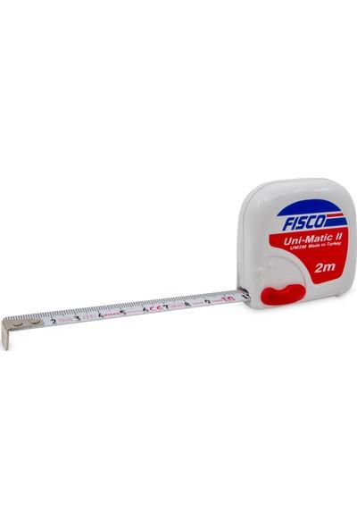 Fısco Unı-Matıc Iı | 2 m Çelik Kısa Şerit m | Um 2m