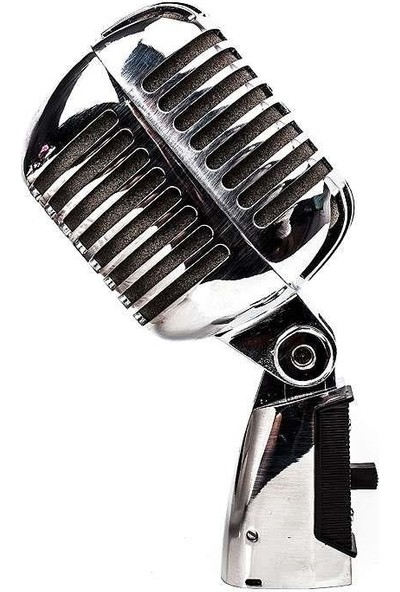 Doppler Rt-65 Nostaljik Retro Mikrofon Elvis Mikrofon-Çantalı