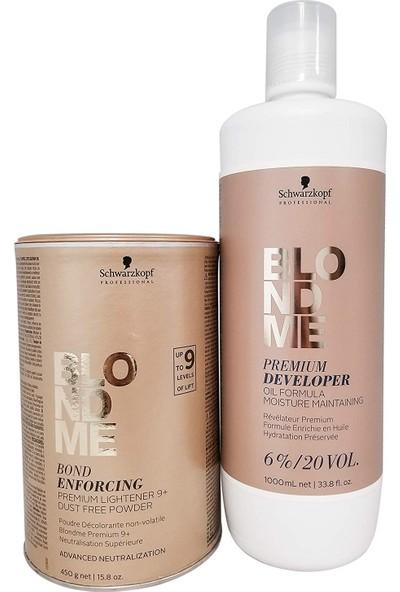 Schwarzkopf Blondme Premium Lift+9 Açıcı Oksidan %9 20 Volume