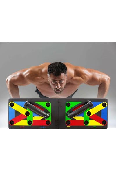 Cellucor Şınav Çalışma Platformu Tahtası Fitness Spor Kondisyon 9in1