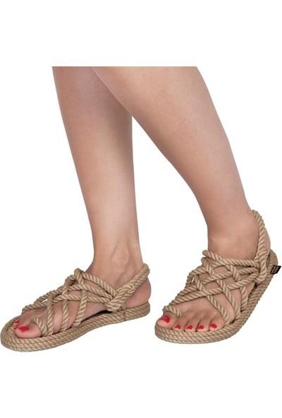 Nomadic Republic Nomadic Kadın Halat Sandalet - Bej