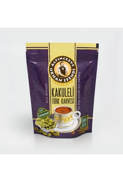 Altın cezve Kakuleli Türk Kahvesi 100 gr
