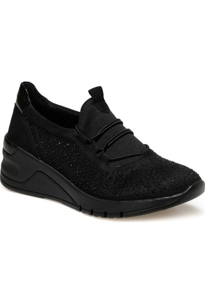 Travel Soft TRV1737 Siyah Kadın Comfort Ayakkabı