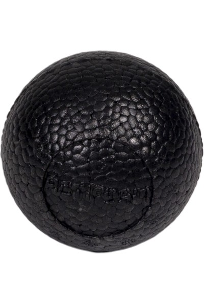 Actifoam Lacrosse Massage Ball Masaj Topu Siyah Sert
