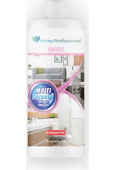 HUNCALIFE Home Professional Çok Amaçlı Kokusuz Temizleyici 750 ml