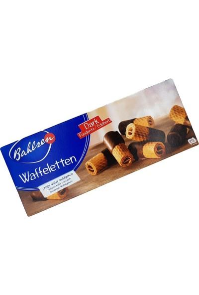 Bahlsen Waffeletten Dark Chocolate Bitter Çikolatalı Waffle 100G