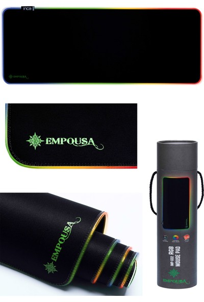 Inca IMP-022 Empousa Rgb 7 Farklı LED Işıklı Gaming Oyuncu Mouse Pad