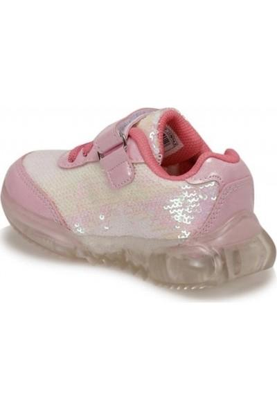 Frozen Kayla Patik Beyaz ve Pembe Kız Çocuk Ayakkabı