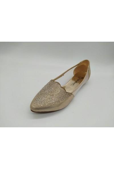 Yükseksoy Gold Savaroski Model Kadın Babet 38 Gold