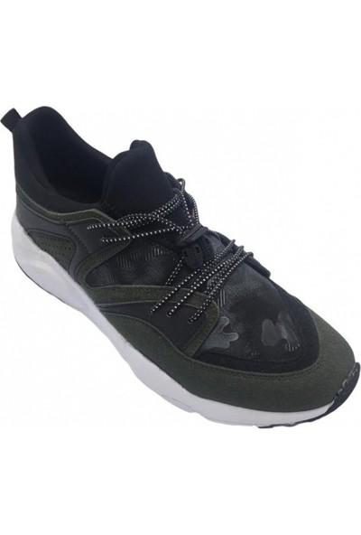 Freebalance Bağsız Kamuflaj Desen Erkek Spor Ayakkabı