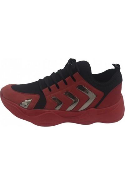 Parkmoda 173K1005 Kırmızı Kadın Spor Ayakkabı