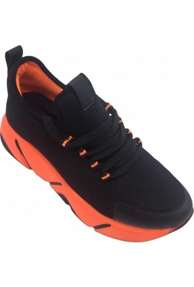 Parkmoda K505 Turuncu Taban Kadın Spor Ayakkabı