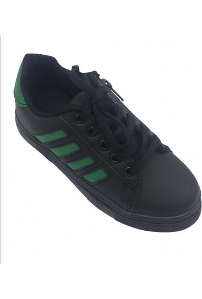 Lafonten 550 Cilt Siyah Fermuarlı Çocuk Spor Ayakkabı
