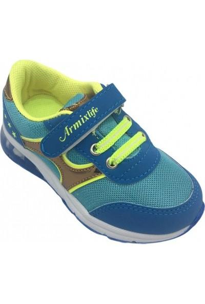 Armix 164 Anorak Su Yeşili Mavi Çocuk Ayakkabı