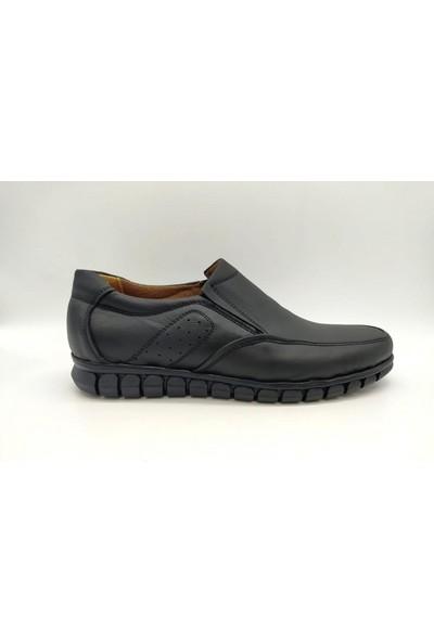 Irfan Yavuz Deri Comfort Siyah Erkek Ayakkabı