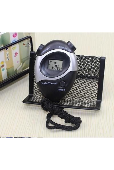 Kadıo Profesyonel Kronometre, Çok Fonksiyonlu, Ipli Dijital Zamanlayıcı