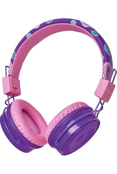 Trust 23608 Comı Bt Kulaküstü Çocuk Kulaklık - Mor