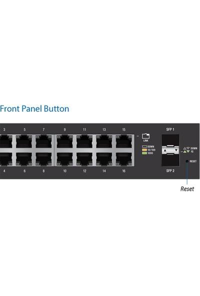 Ubiquiti ES-16-150W Edgeswitch 16 Port 150W Yönetilebilir Dağıtıcı