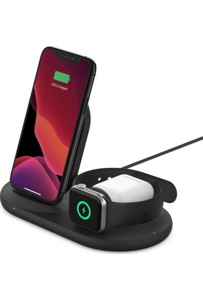 Belkin Boost↑charge™ 3'ü 1 Arada Apple Ürünleriniz Için Kablosuz Şarj Cihazı