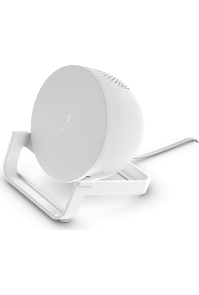 Belkin Boostcharge Kablosuz Şarj Standı 10W + Kablosuz Hoparlör (Endüktif Şarj Cihazı, Qı Desteği , 10W, Dahili Bluetooth Hoparlör) , Siyah