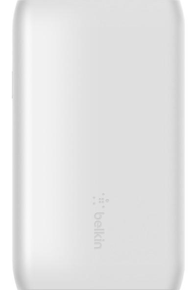 Belkin Taşınabilir Power Bank Şarj Aleti 5k (Taşınabilir Şarh Cihazı - USB Port, 5000MAH Kapasite , Iphone, Airpods, Ipad, Samsung, Google ve Daha Fazlası ile Uyumlu) - Beyaz