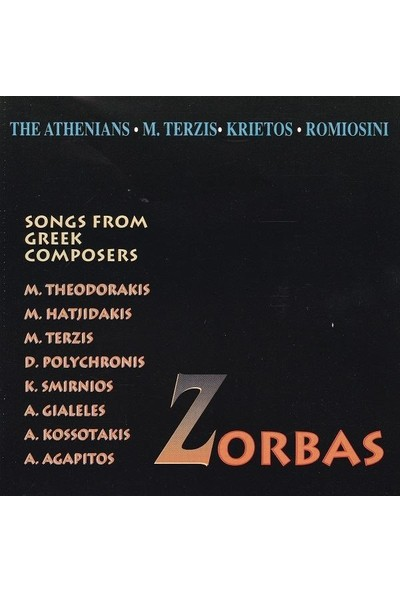 Zorba - Song From Greek Composers / CD