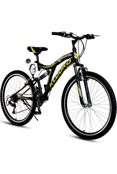 Kldoro KD-031 24 Jant Bisiklet 21 Vites Çift Amortisör Erkek Dağ Bisikleti