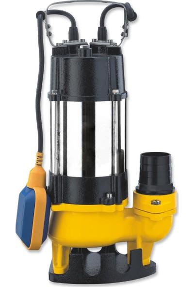 Impo V750F 1 Hp 220 V Pis - Kirli Su Dalgıç Pompa