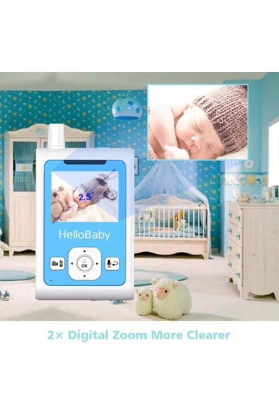 Hello Baby HB25 Bebek Monitörü