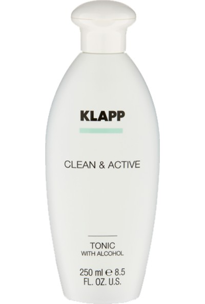 Klapp Clean&active Alkollü Tonik 250 ml