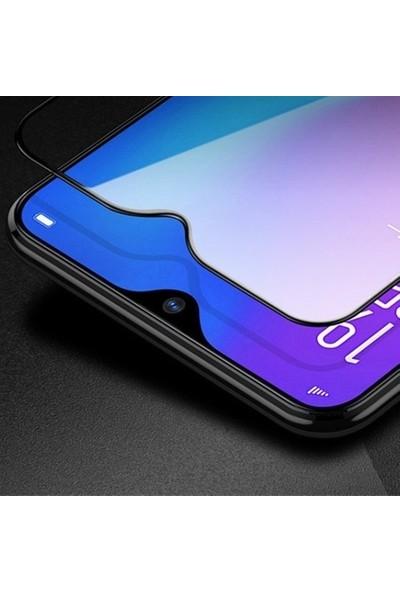 Oppo Realme 5i Tam Kaplayan Ultra Ince Ekran Koruyucu - Siyah