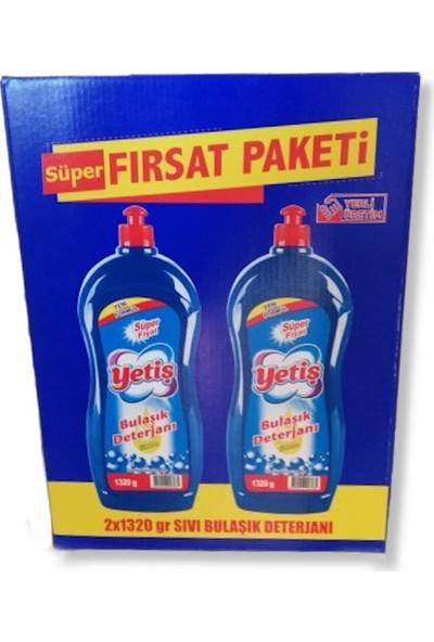 Yetiş Sıvı Bulaşık Deterjanı 1320 gr x 2'li Fırsat Paketi