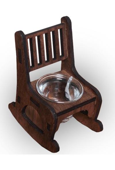 Halk Kitabevi Lora Sallanan Sandalye Cam Mumluk