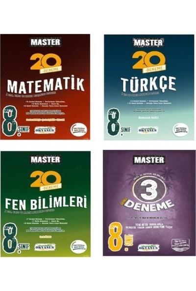 Okyanus 8. Sınıf LGS Master Türkçe Matematik Fen Genel Deneme Seti