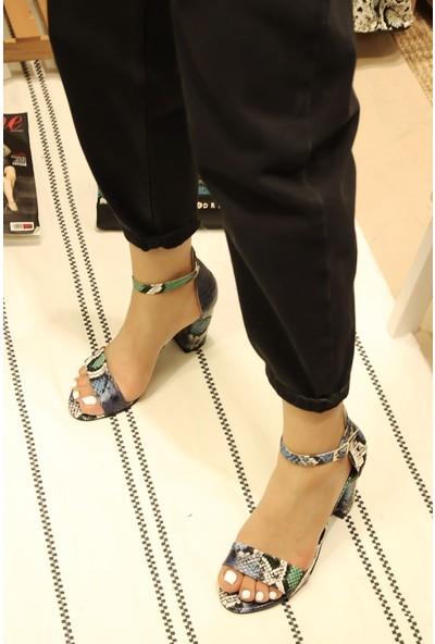 Divolya Kadın Kuka Günlük Yazlık Sandalet