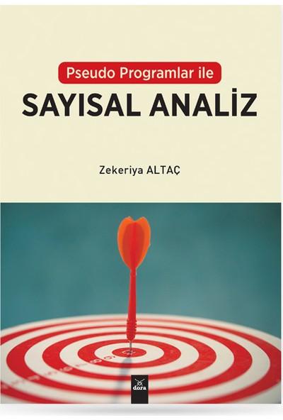 Pseudo Programlar ile Sayısal Analiz - Zekeriya Altaç