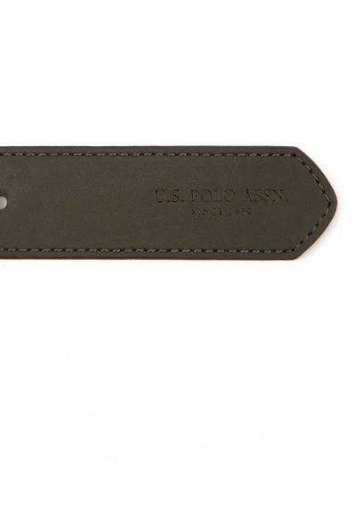 U.S. Polo Assn. Erkek Yeşil Kemer 50228287-VR027