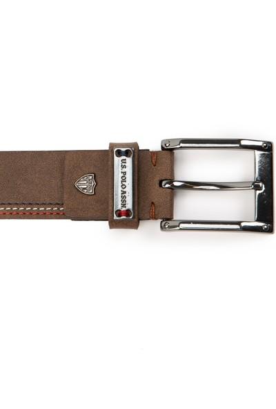 U.S. Polo Assn. Erkek Kahverengi Kemer 50228296-VR052