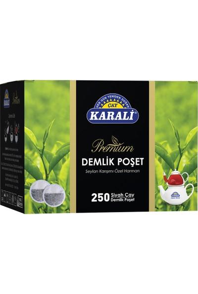 Karali Premium Demlik Poşet Siyah Çay 250'li