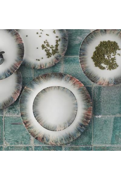 Güral Porselen Güral 18 Parça Roden Asimetrik Yemek Seti