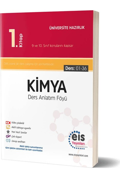 Eis Yayınları YKS Kimya 1. Kitap Daf