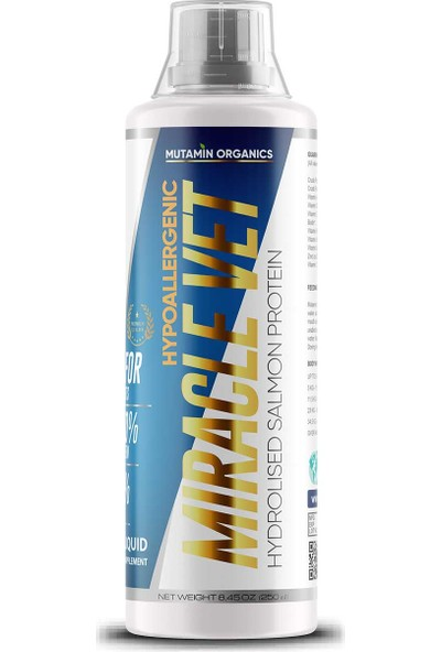 Mutamin Organıcs Miracle Vet 250 ml