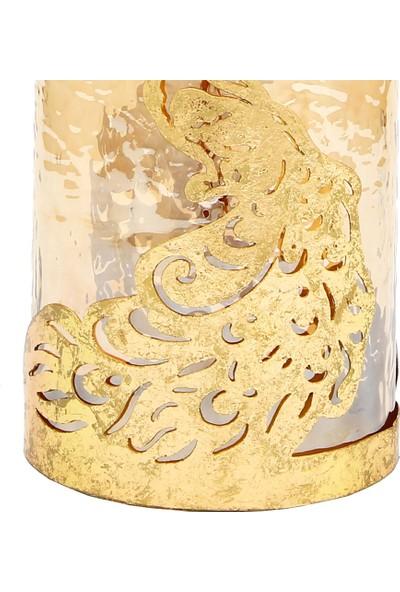 Vitale Fawna Tavuz Kuşu Mumluk 12X15 cm