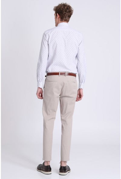 Lufian Joe Smart Gömlek Slim Fit Mavı