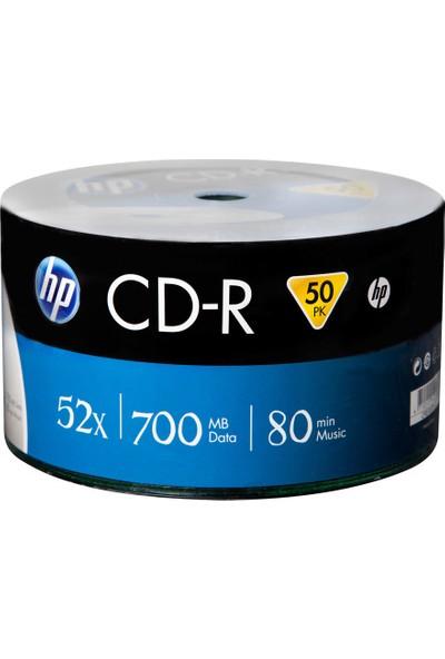 HP BOŞ CD-R 52X 700 MB 80 Min BOŞ CD 50'li Paket