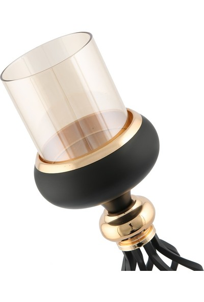 Vitale Zerah Gold Siyah Mumluk 12X48 cm
