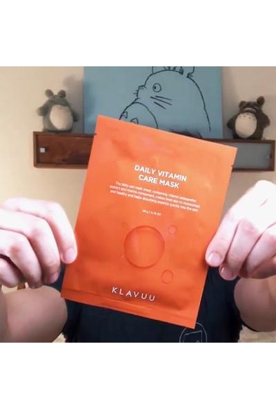 Klavuu Günlük Cilt Vitamin Maskesi 5 Adet