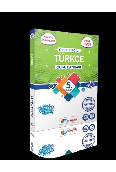 Köşebilgi 5 Sınıf Soru Bankası Türkçe - Fen Bilimleri