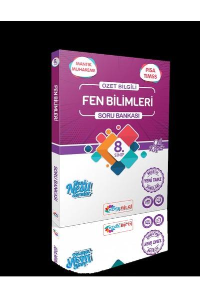 Köşebilgi 8 Sınıf Soru Bankası Türkçe - Fen Bilimleri