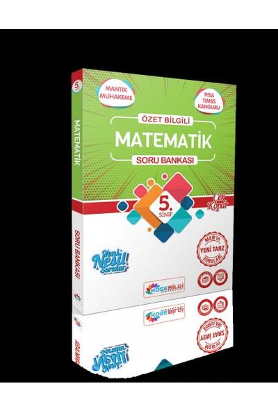 Köşebilgi 5 Sınıf Soru Bankası Matematik - Fen Bilimleri
